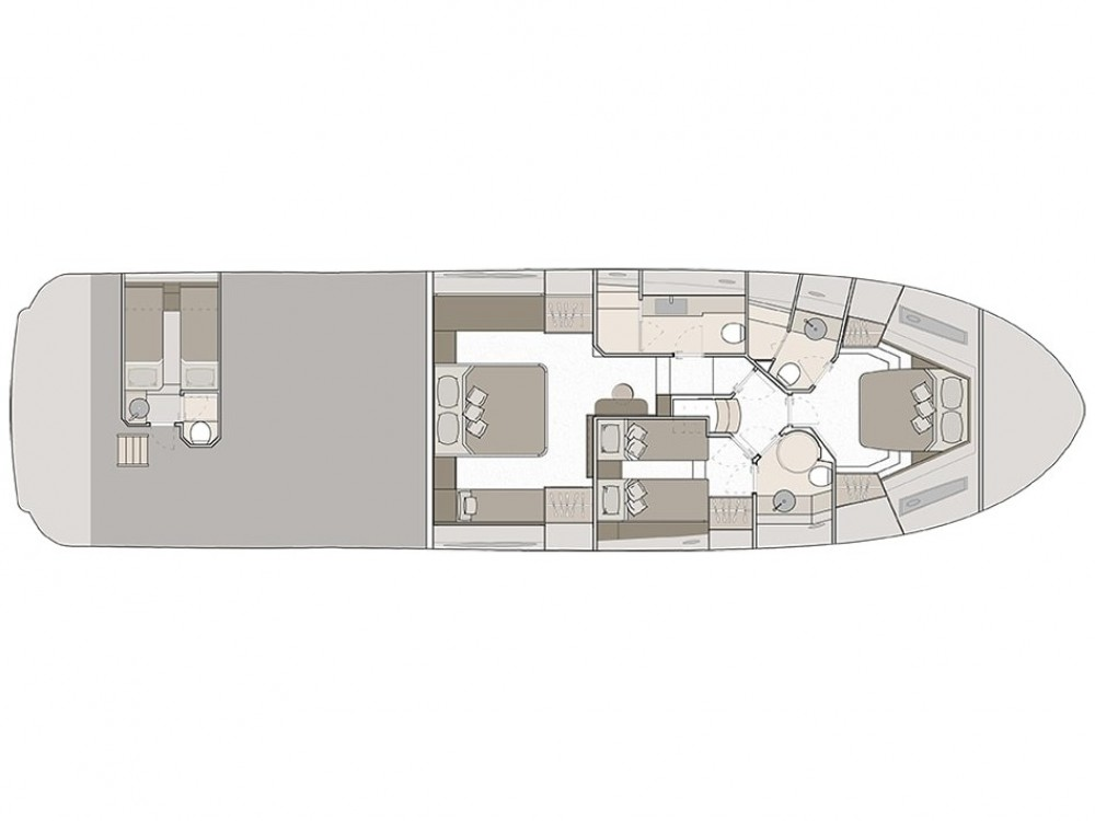 Location bateau Bénéteau Monte Carlo Yacht 66 à Šibenik sur Samboat