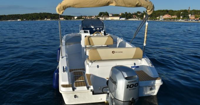 Location bateau Rovinj pas cher IDEA 58