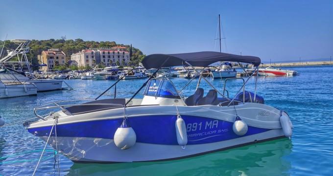 Location bateau Okiboats Barracuda 545 Open à Makarska sur Samboat