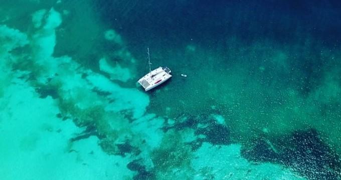 Location bateau Gustavia pas cher Nautitech 47
