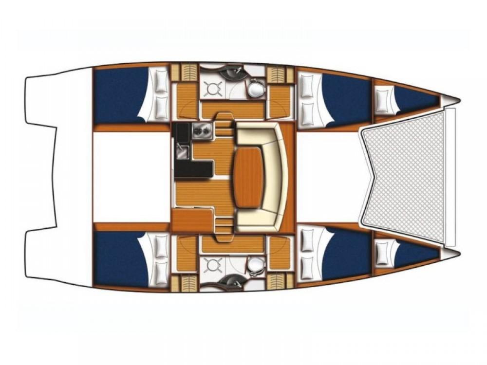 Location bateau Sibenik pas cher Leopard 39 PC