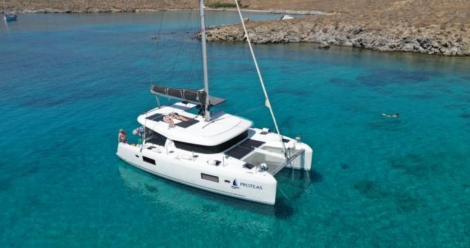 Location bateau Ornós pas cher Lagoon 420