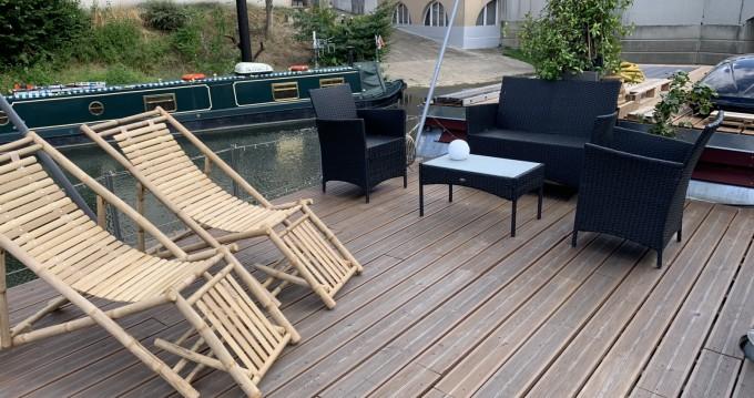 Hausboty Houseboat entre particuliers et professionnel à Cergy