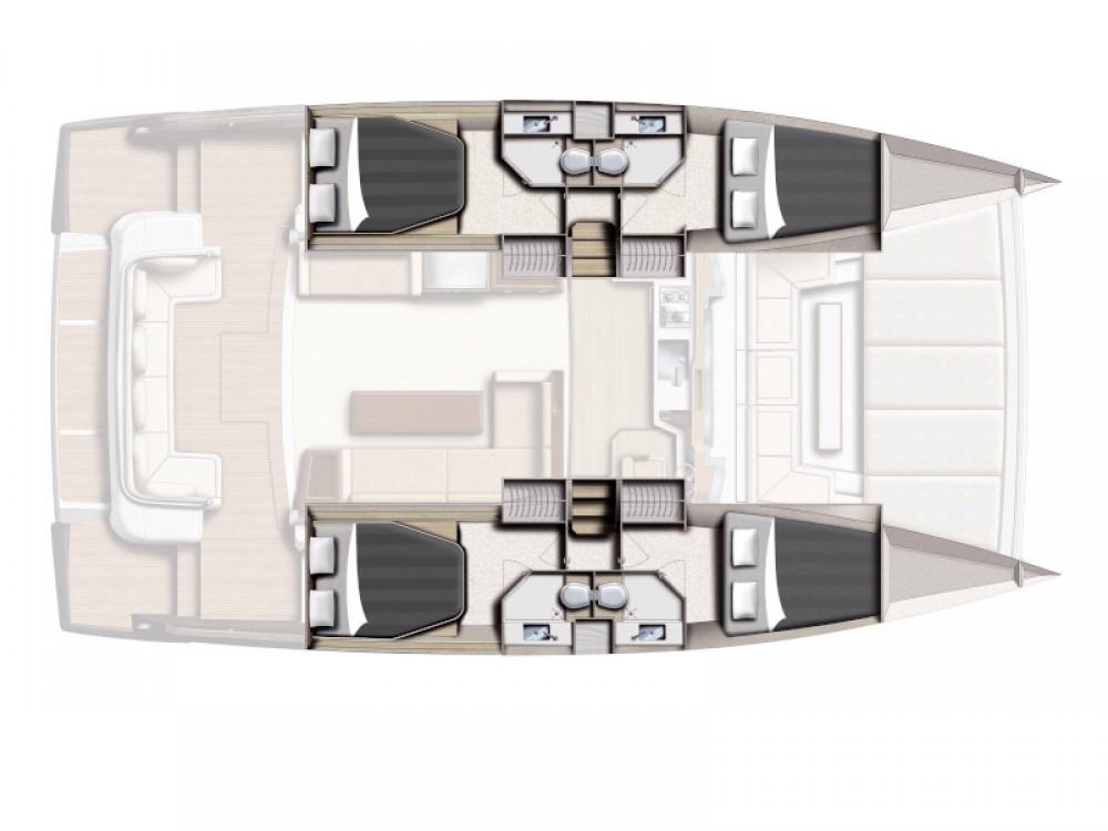 Louer Catamaran avec ou sans skipper Bali à Prévéza