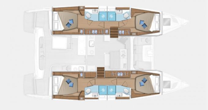 Location bateau Fethiye pas cher Lagoon 46