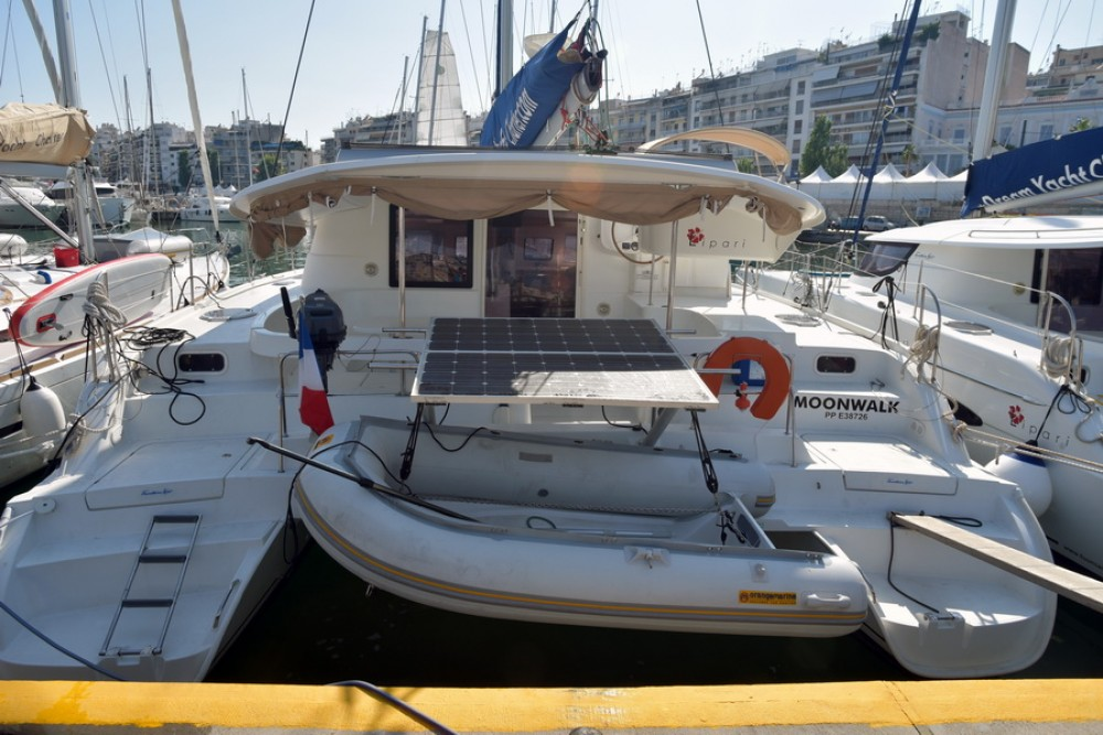 Location Catamaran à Laurion - Fountaine Pajot Lipari 41