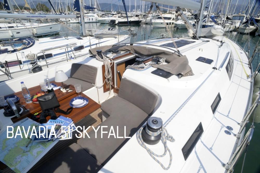 Location yacht à Marina Gouvia - Bavaria Bavaria 51 Cruiser sur SamBoat