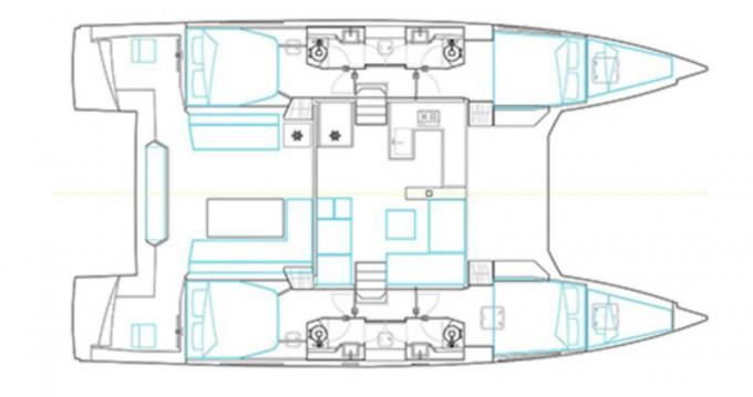Louer Catamaran avec ou sans skipper Nautitech à Álimos