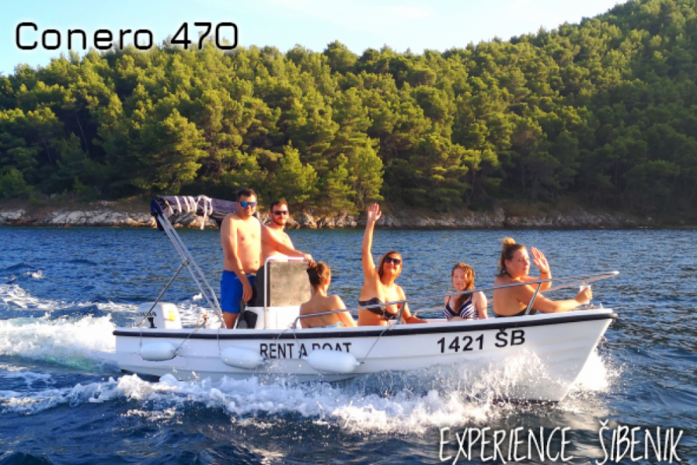 Louez un Conero 470 à Zaborici