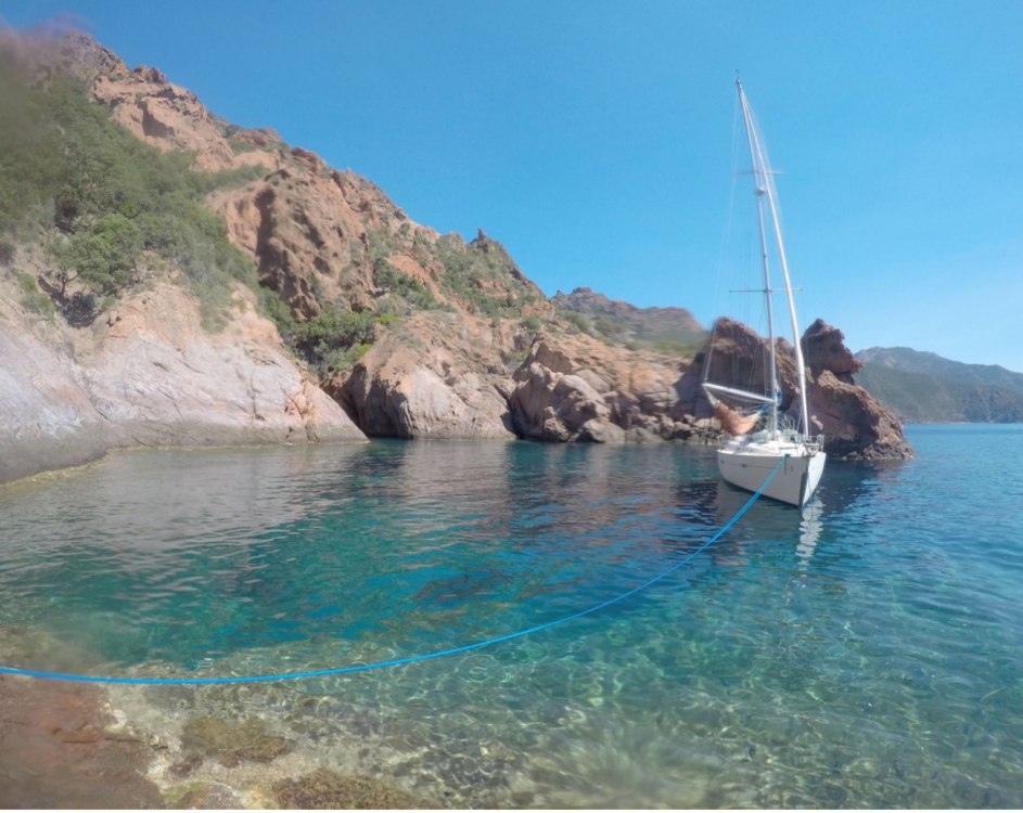 Bénéteau oceanis 411 entre particuliers et professionnel à Marseille