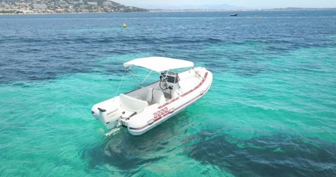Louer Semi-rigide avec ou sans skipper Asso à Cannes