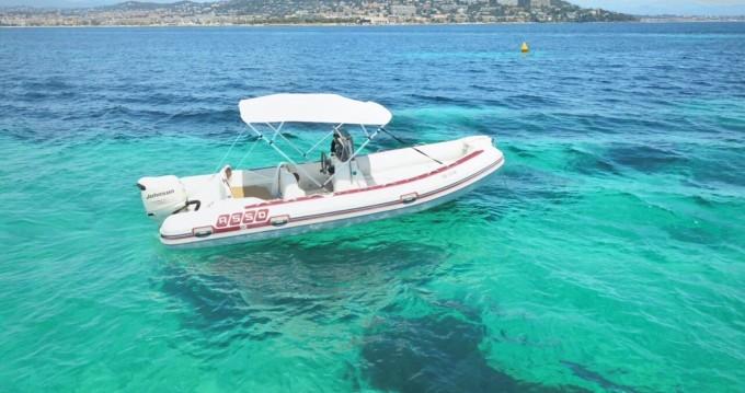 Location bateau Cannes pas cher Asso 58