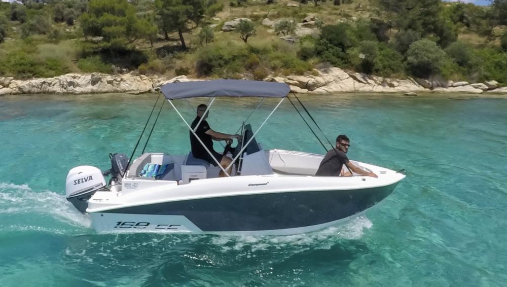 Location bateau Ormos Panagias pas cher 168cc