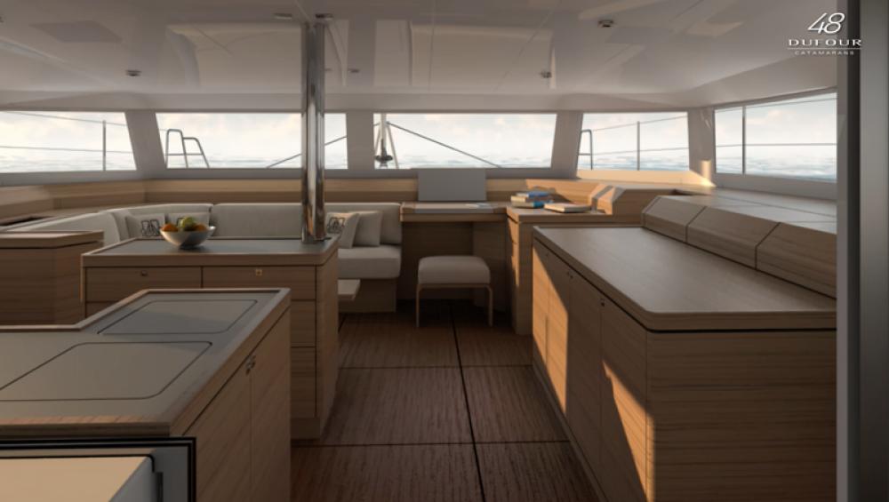 Louer Catamaran avec ou sans skipper Dufour à Preveza