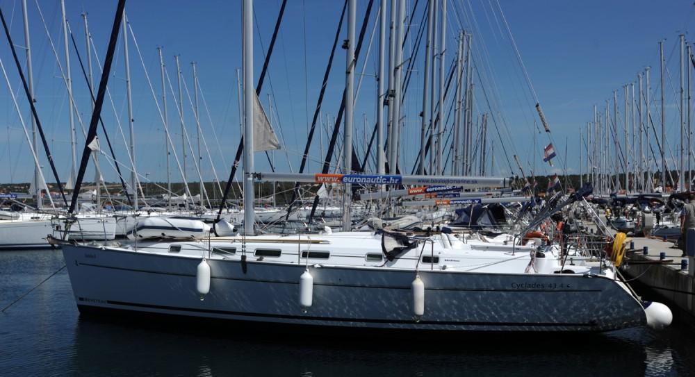 Location bateau Grad Biograd na Moru pas cher Cyclades 434