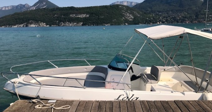 Location bateau Saint-Jorioz pas cher Eden 22