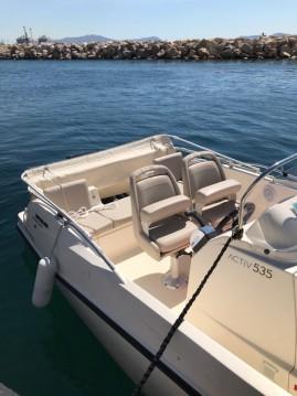 Location bateau Quicksilver Activ 535 Open à Marseille sur Samboat