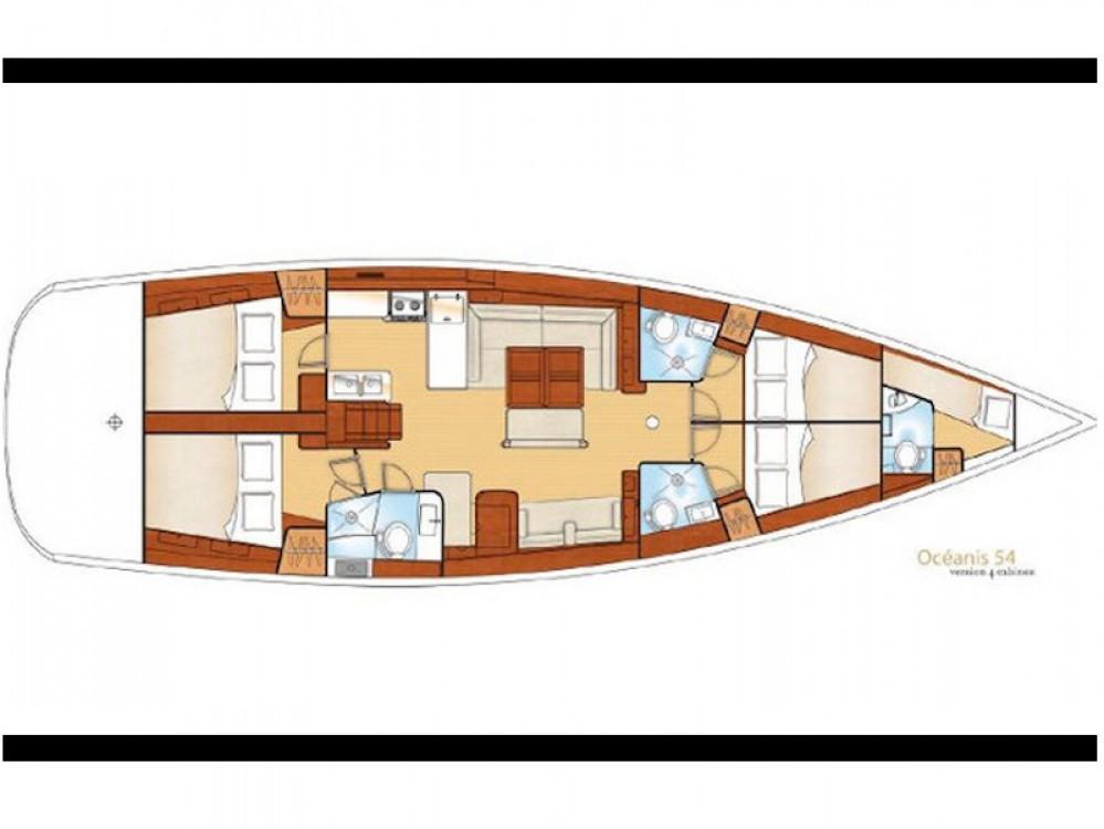 Location yacht à  - Bénéteau Beneteau 54 sur SamBoat