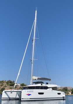 Location Catamaran à Athènes - Fountaine Pajot Elba 45