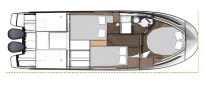 Location bateau Jeanneau Merry Fisher 1095 Fly à Sukošan sur Samboat