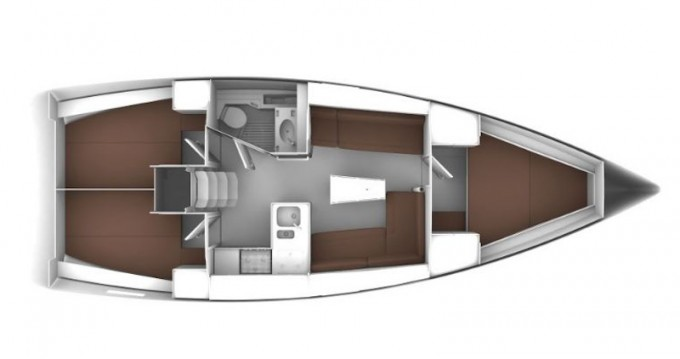 Location bateau Pirovac pas cher Cruiser 37