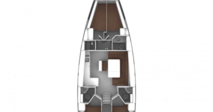 Location bateau Sukošan pas cher Cruiser 46