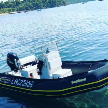 Location bateau La Londe-les-Maures pas cher Explorer 500 DB