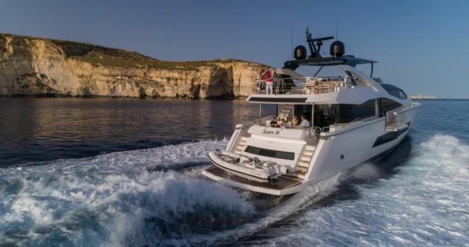 Location yacht à San Ġiljan - Sunseeker Yacht 86 sur SamBoat