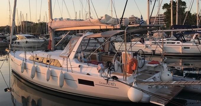 Bénéteau Oceanis 411 entre particuliers et professionnel à Volos