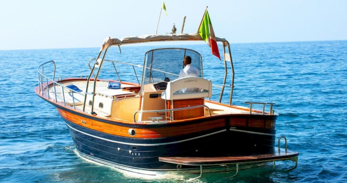 Location bateau Positano pas cher Sorrento 32 Open Cruise