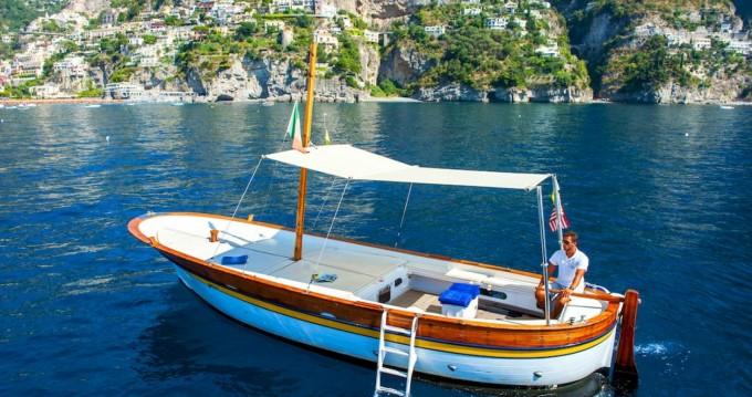 Location Bateau à moteur à Positano - Fratelli Aprea Sorrento 7,50 open cruise
