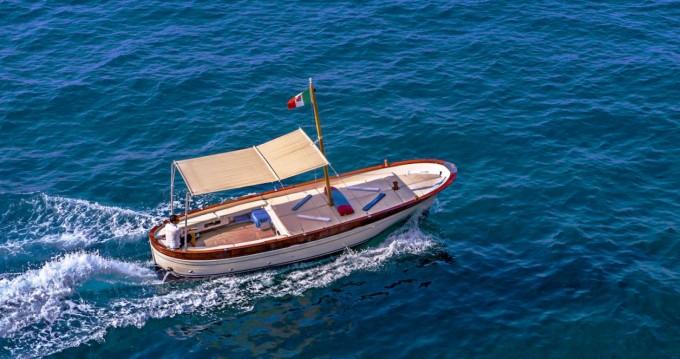 Location bateau Fratelli Aprea Sorrento 7,50 open cruise à Positano sur Samboat