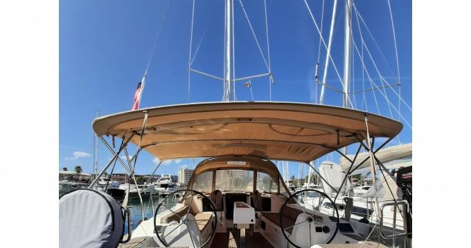 Location bateau Dufour Dufour 382 Grand Large Notus 2016 à Porto di Balestrate sur Samboat