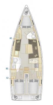 Location bateau Hanse Hanse 418 à Kaštela sur Samboat