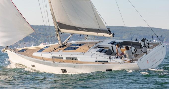 Location bateau Kaštela pas cher Hanse 458