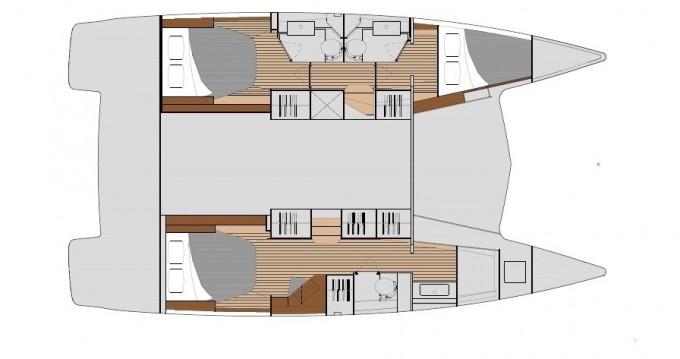 Location yacht à Donji Seget - Fountaine Pajot Isla 40 sur SamBoat