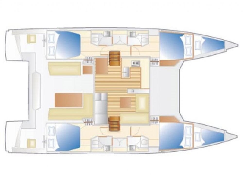 Louez un Nautitech Nautitech 46 Fly à Alzachèna/Arzachena