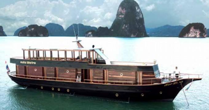 Location Yacht à Phuket -  Wooden motor yacht