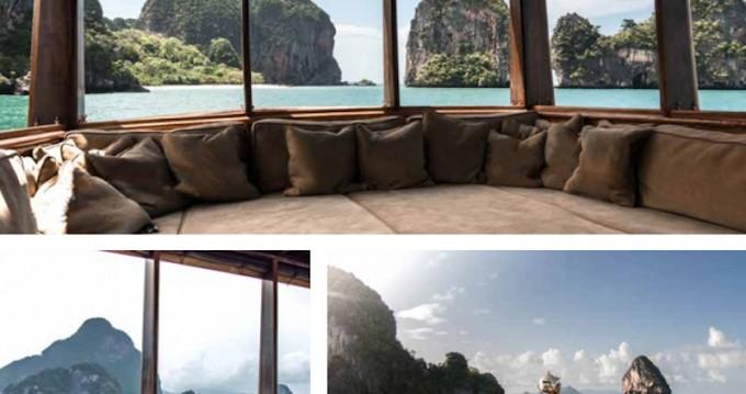 Location bateau Phuket pas cher Wooden motor yacht