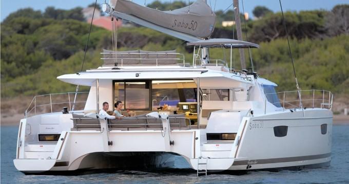 Location Catamaran à Tortola -  Saba 50