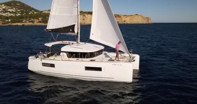 Location bateau Ibiza (Ville) pas cher Lagoon 40