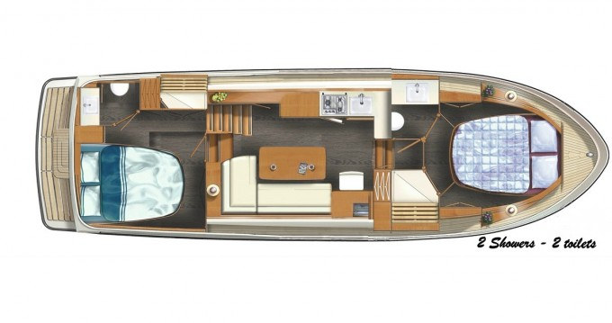 Location bateau Linssen Linssen 35 SL AC à Kinrooi sur Samboat