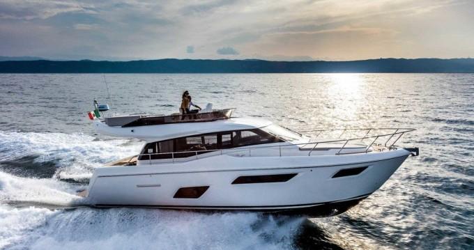 Location yacht à Podstrana - Ferretti Ferretti Yachts 450 sur SamBoat