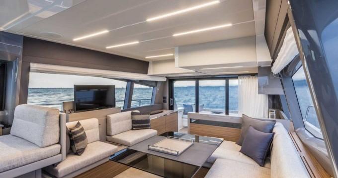 Location Bateau à moteur à Podstrana - Ferretti Ferretti Yachts 450