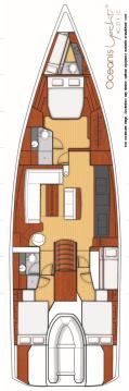 Location Voilier à Athènes - Bénéteau Oceanis Yacht 62 - 4 + 1