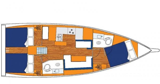 Location bateau Rodney Bay pas cher Sunsail 41.0