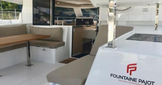 Location yacht à Le Marin - Fountaine Pajot Lucia 40 sur SamBoat