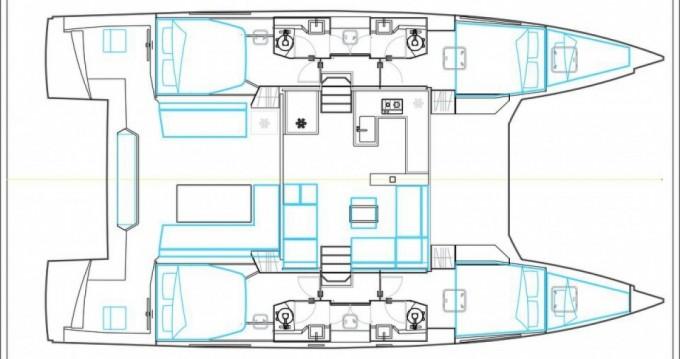 Location bateau Le Marin pas cher open 46