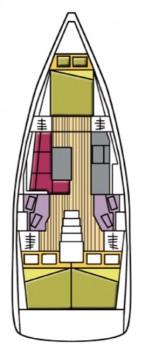 Location yacht à Castiglioncello - Bénéteau Oceanis 38.1 sur SamBoat