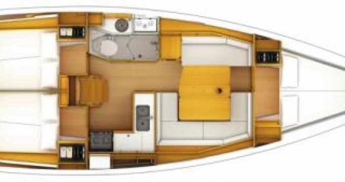 Location yacht à Le Marin - Jeanneau Sun Odyssey 389 sur SamBoat